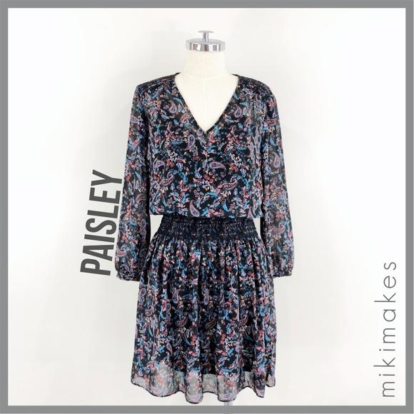 031e1fe90595 Anthropologie Dresses | Vanessa Virginia Paisley Daytripper Dress ...